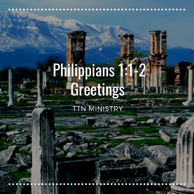 TTN Ministry -- The book of Philippians