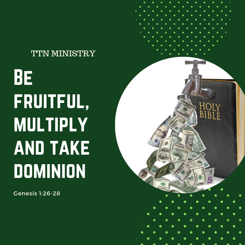 TTN MINISTRY POSTER BE FRUITFUL